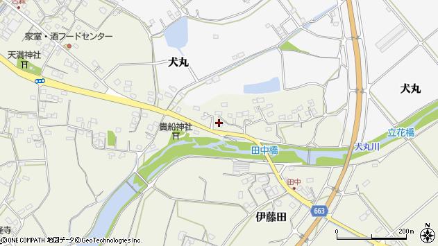 大分県中津市伊藤田2401周辺の地図