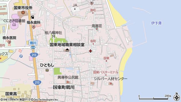 大分県国東市国東町鶴川1311周辺の地図