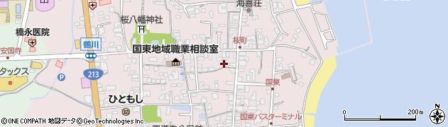大分県国東市国東町鶴川1310周辺の地図