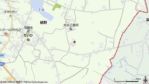大分県中津市植野1021周辺の地図