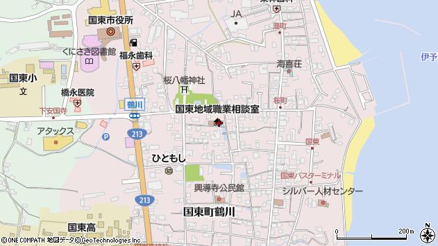 大分県国東市国東町鶴川1334周辺の地図