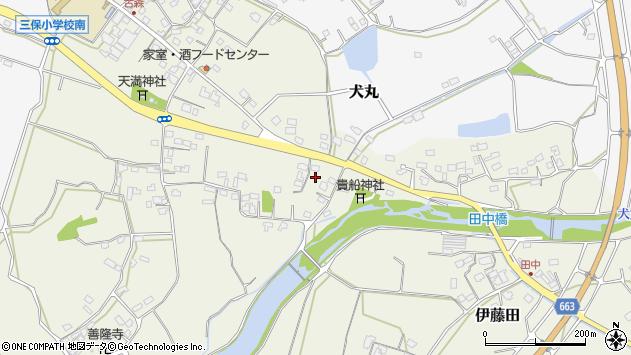 大分県中津市伊藤田2677周辺の地図