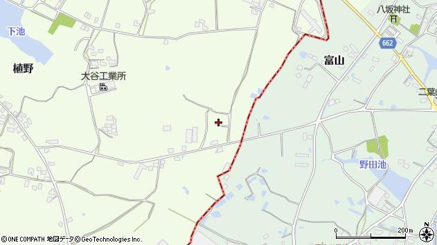 大分県中津市植野912周辺の地図
