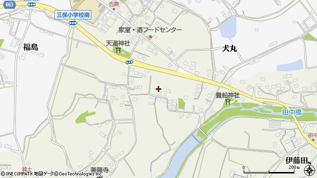 大分県中津市伊藤田2609周辺の地図