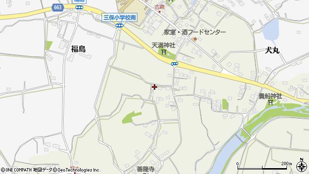 大分県中津市伊藤田3239周辺の地図