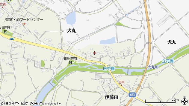 大分県中津市伊藤田2386周辺の地図