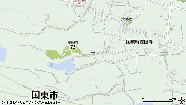 大分県国東市国東町安国寺2369周辺の地図