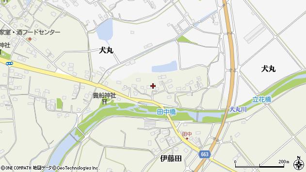 大分県中津市伊藤田2389周辺の地図