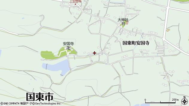 大分県国東市国東町安国寺2383周辺の地図