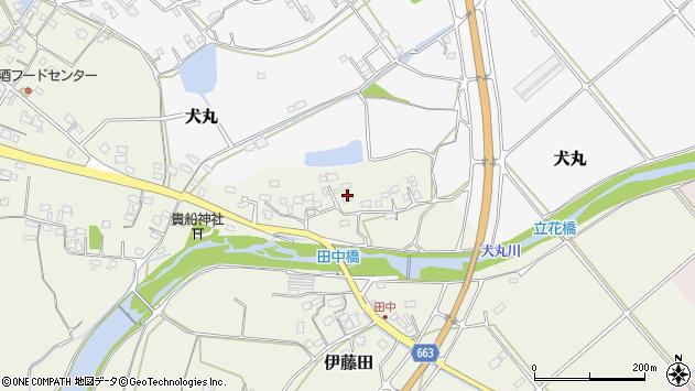 大分県中津市伊藤田2347周辺の地図