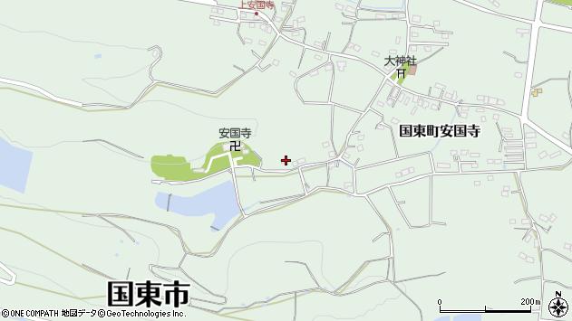 大分県国東市国東町安国寺2379周辺の地図