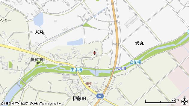 大分県中津市伊藤田2330周辺の地図