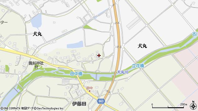 大分県中津市伊藤田2332周辺の地図