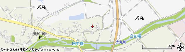 大分県中津市伊藤田323周辺の地図
