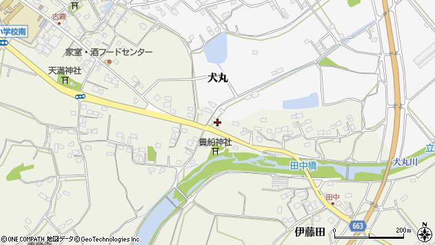 大分県中津市伊藤田2437周辺の地図