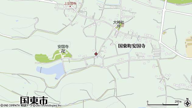 大分県国東市国東町安国寺2421周辺の地図