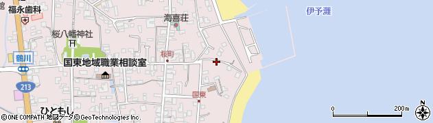 大分県国東市国東町鶴川586周辺の地図
