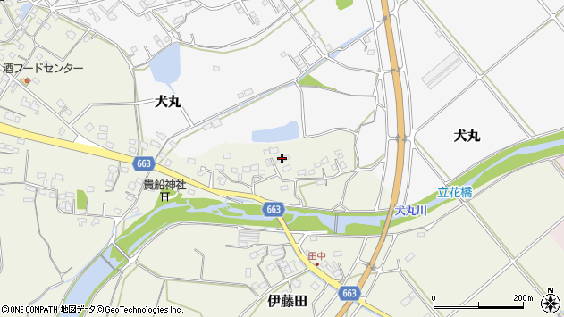 大分県中津市伊藤田2348周辺の地図