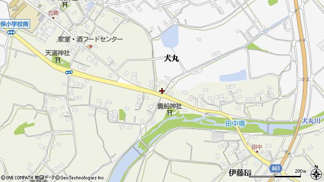 大分県中津市伊藤田2687周辺の地図