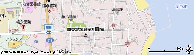 大分県国東市国東町鶴川232周辺の地図