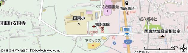 大分県国東市国東町安国寺688周辺の地図