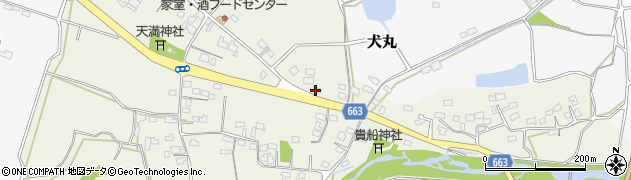 大分県中津市伊藤田2725周辺の地図