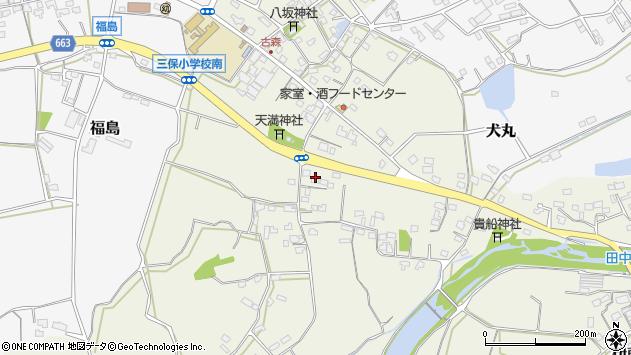大分県中津市伊藤田2571周辺の地図