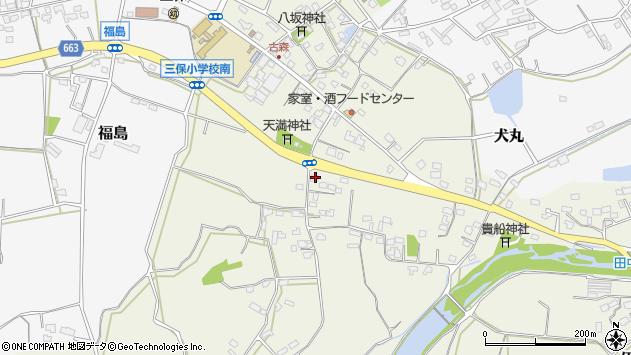 大分県中津市伊藤田2572周辺の地図