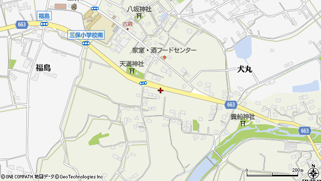 大分県中津市伊藤田2569周辺の地図