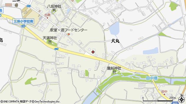 大分県中津市伊藤田2724周辺の地図