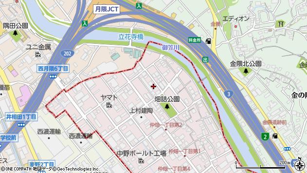 福岡県大野城市仲畑 地図(住所一覧から検索) :マピオン