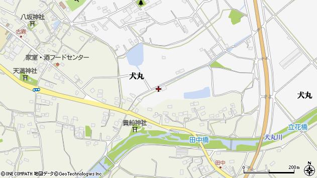 大分県中津市犬丸1210周辺の地図
