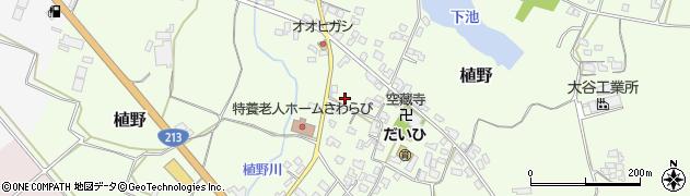 大分県中津市植野1287周辺の地図