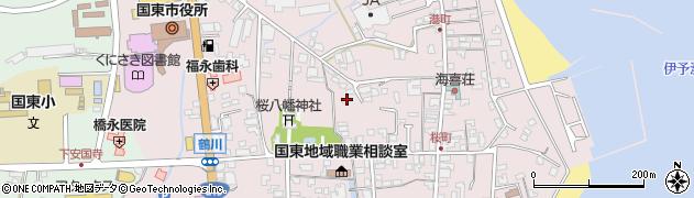 大分県国東市国東町鶴川221周辺の地図
