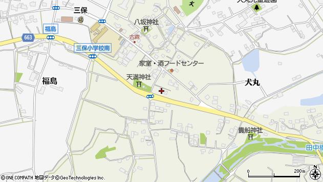 大分県中津市伊藤田2576周辺の地図