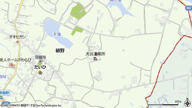 大分県中津市植野944周辺の地図