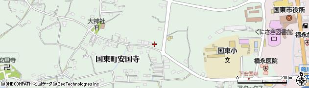 大分県国東市国東町安国寺915周辺の地図