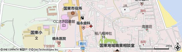 大分県国東市国東町鶴川宮ノ下周辺の地図