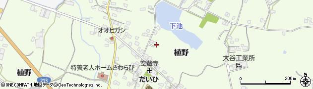 大分県中津市植野1125周辺の地図