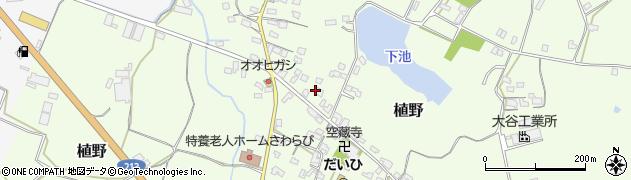 大分県中津市植野261周辺の地図
