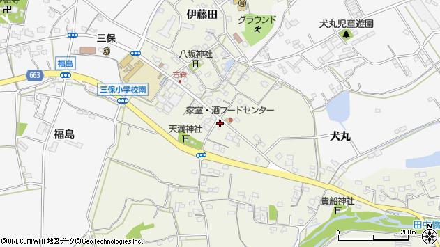 大分県中津市伊藤田2577周辺の地図