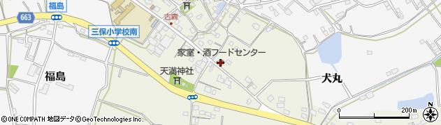 大分県中津市伊藤田2818周辺の地図