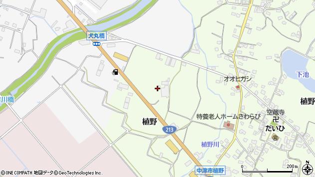 大分県中津市植野60周辺の地図