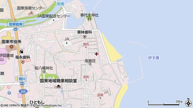 大分県国東市国東町鶴川349周辺の地図