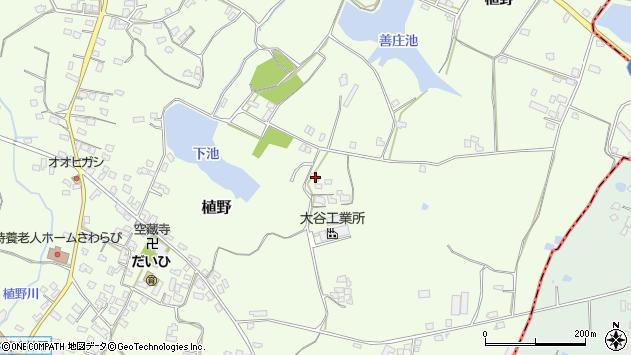 大分県中津市植野1546周辺の地図