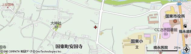 大分県国東市国東町安国寺875周辺の地図