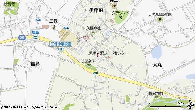 大分県中津市伊藤田3180周辺の地図