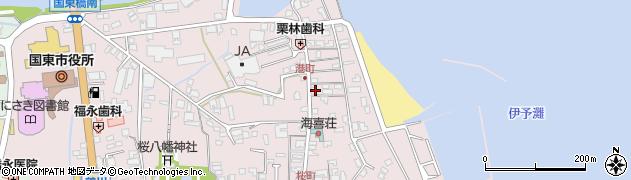 大分県国東市国東町鶴川355周辺の地図