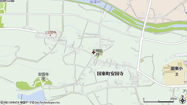 大分県国東市国東町安国寺1364周辺の地図