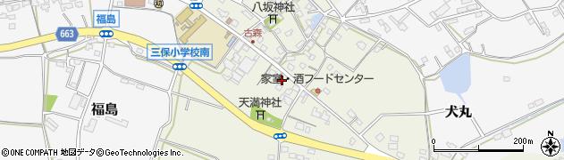 大分県中津市伊藤田3186周辺の地図
